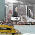 water taxi <span>photo on dibond </span>