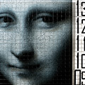 mona lisa  <span>photo  on armoured glass</span>